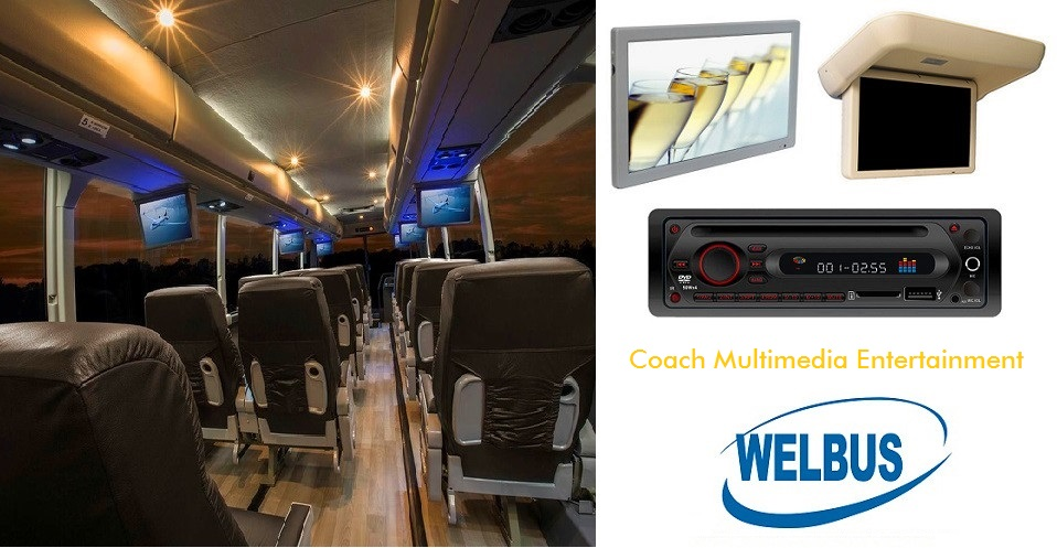 WELBUS bus and coach multimedia entertainment