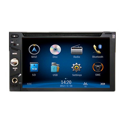 CMH-201 Dual Zone Bus Multimedia Player