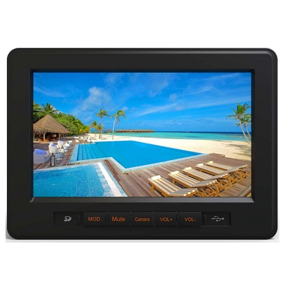 CMH-700 7 Inch Touch Screen Coach Dual-Zone Multimedia Head Unit